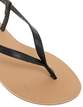 Image 2 ofASOS FINSBURY Toe Thong Flat Sandals