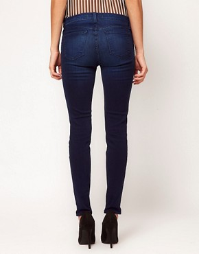 Image 2 ofJ Brand 811 Mid Rise Jeans In Avelon Powdery Vintage Blue