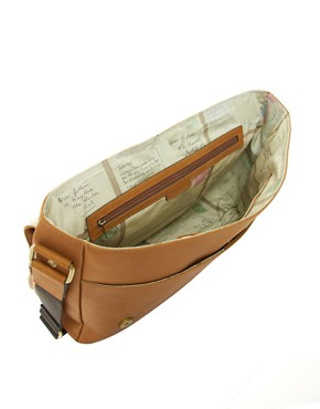 Image 2 ofTed Baker Leather Messenger Bag