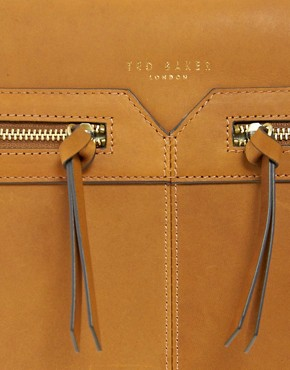 Image 4 ofTed Baker Leather Messenger Bag