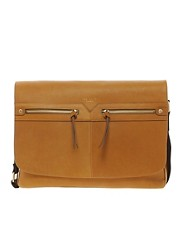 Ted Baker Leather Messenger Bag