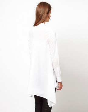 Image 2 ofJNBY Shirt With Drape Sides