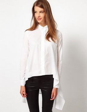Image 1 ofJNBY Shirt With Drape Sides