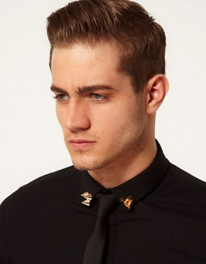 Image 2 ofASOS Triple Spike Collar Tips