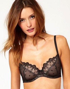 Image 1 ofGossard Femme Fatale Under Wired Sequin Bra