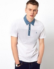 Original Penguin Polo with Contrast Collar