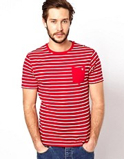 Brave Soul Stripe T-Shirt