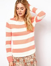 Vila Stripe Sweater