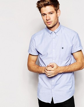 Selected Homme Short Sleeve Oxford Shirt