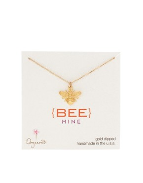 Image 1 ofDogeared Bee Charm Necklace