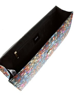 Image 2 ofASOS Digital Jewel Clutch