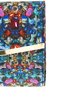 Image 4 ofASOS Digital Jewel Clutch