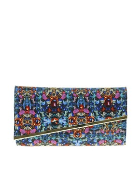 Image 1 ofASOS Digital Jewel Clutch