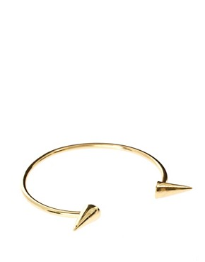 Image 1 ofASOS Adjustable Spiked Arm Cuff Bracelet
