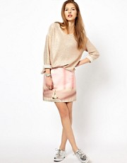 Paul by Paul Smith Pencil Skirt in Digital Bunny Print