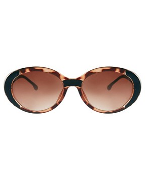 Image 2 ofASOS Mixed Frame Oval Sunglasses