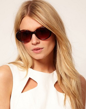 Image 3 ofASOS Mixed Frame Oval Sunglasses