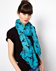 ASOS Giraffe Print Scarf