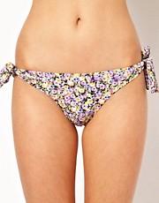 Shop Hoola online and buy Hoola Garden Party Tie Side Bikini Bottom