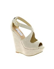 Steve Madden Xternal Strap Platform Wedges
