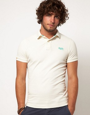 Image 1 ofSuperdry Classic Polo Shirt
