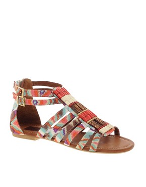 Image 1 ofTimeless Kasey Tribal Sandal