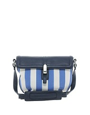 French Connection Crossbody Bag in Deckchair Stripe