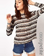 ASOS PETITE Exclusive Slouchy Jumper