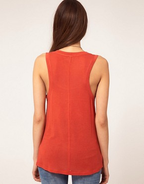 Image 2 ofASOS Seamed Vest in Loose Knit