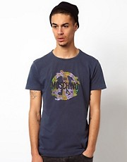 Love Moschino T-Shirt Peace Sign