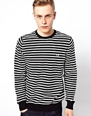 Fred Perry Jumper with Breton Stripe