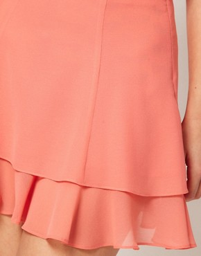 Image 3 ofASOS skater Skirt With Double Layer