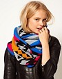 Image 1 ofASOS Aztec Pattern Snood