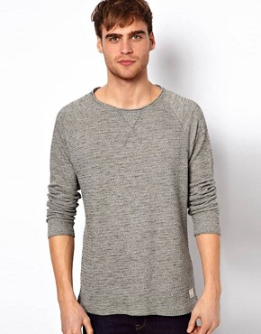 Image 1 ofSelected Jumper With Raw Edge