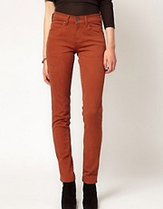 Dr Denim Snap Colored Skinny Jeans