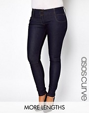 Vaqueros pitillo Super Sexy de ASOS CURVE
