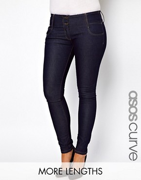 Bild 1 von ASOS CURVE  Sehr sexy geschnittene Rhrenjeans