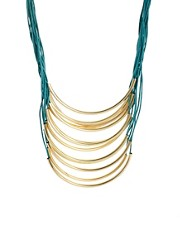 Ashiana Multi Cord Statement Necklace