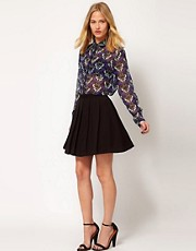Selected Loca Skater Skirt