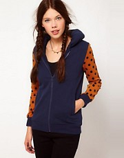 b + ab Dotty Sleeve Jacket