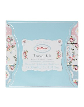 Image 2 ofCath Kidston Blossom Luxury Travel Kit