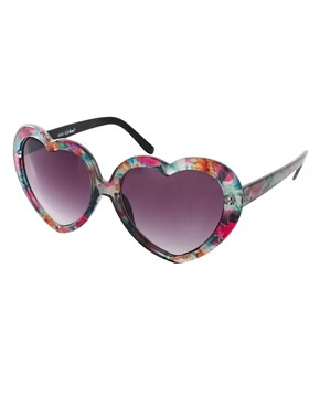 Image 1 ofAJ Morgan Heart Throb Sunglasses