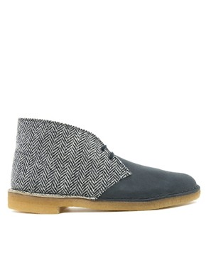 Image 4 ofClarks Originals Harris Tweed Desert Boots