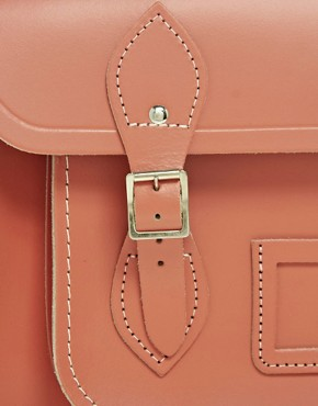 Image 4 ofCambridge Satchel Company Exclusive to Asos 13&quot; Leather Satchel