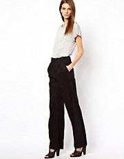 Factory By Erik Hart High Waist Smart Trousers