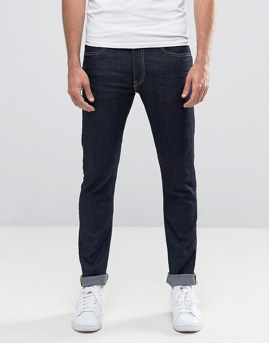 Product photo of Lee jeans luke skinny fit top blue top blue