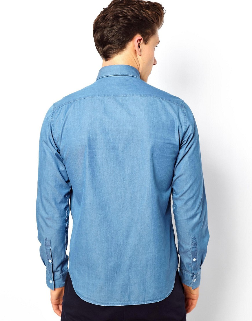 Image 2 ofReiss Denim Shirt