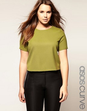 Image 1 ofASOS CURVE Tailored Top
