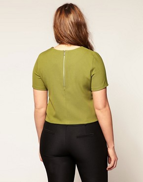 Image 2 ofASOS CURVE Tailored Top