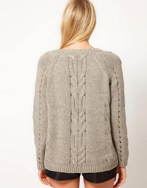 Image 2 ofOasis Aran Jumper